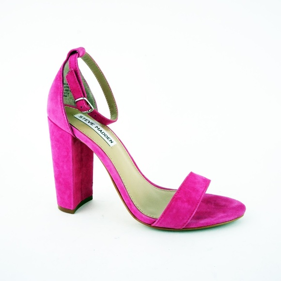 006223b8cf3 Steve Madden Carrson Ankle-Strap Sandals Hot Pink